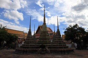 Another view in Wat Pho.
