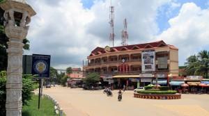 Street in Siem Reap.