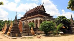 The main temple of Wat Bo.