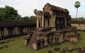 Structure in Angkor Wat.
