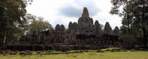 Another view of Bayon.