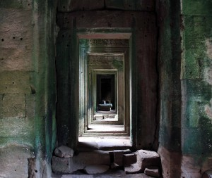 Passageway found in Bayon.
