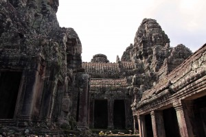 Another view inside Bayon.