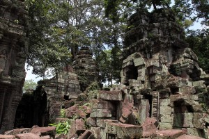 Ruins of Ta Prohm.