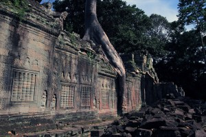 Ruins of Preah Khan.