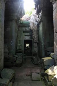 Passageway in Preah Khan.