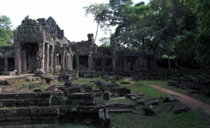 Another view of the jungle encroaching on to Preah Khan's ruins.