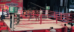 The second Khmer boxing fight.