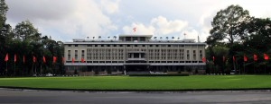 "Independence Palace (also known as the ""Reunification Palace"")."