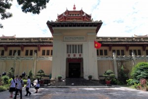 The Museum of History in Ho Chi Minh City.