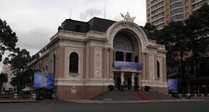 The Saigon Opera House.
