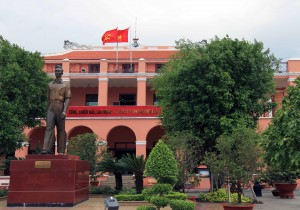 The Ho Chi Minh Museum in the city named after him.