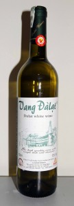 Bottle of Dalat white wine.