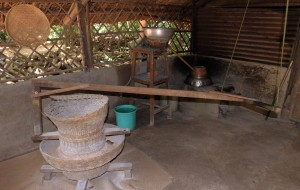 Tools used to make rice wine.
