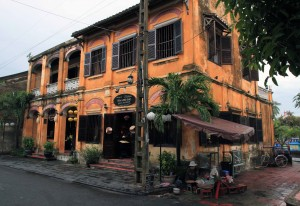 A historic building in Hoi An's old town.