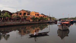 Hoi An waterfront during the afternoon.