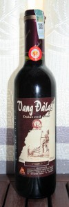 """Superior"" Dalat red wine."