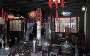 The front room in the old house of Phung Hung.