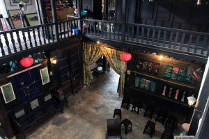 Inside the old house of Phung Hung.