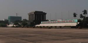 Ho Chi MInh's Mausoleum.