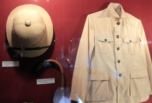 Clothes that belonged to Ho Chi MInh - it's ironic that he used to dress like a European colonial ruler.