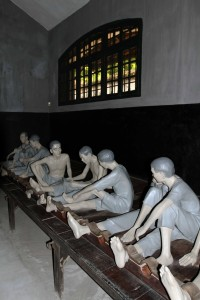Exhibition of prison life for the detainees under French Colonial rule.