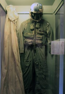 The flight suit John McCain was wearing when he was shot down and detained - supposedly.