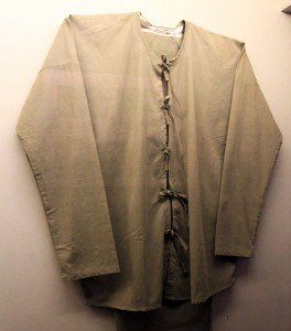 USAF Col John P. Flynn's prison clothes while staying at the Hanoi Hilton (they hardly look used . . . hmmm . . . ).