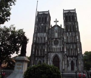 St. Joseph's Cathedral in Hanoi.