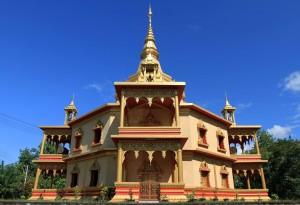 Vipassana temple in Wat Phonh Phao.