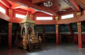 The third level in Vipassana temple.