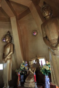 The fifth and topmost level in Vipassana temple.