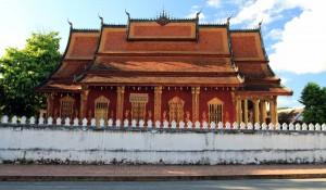 The main hall in Wat Sensoukharam.