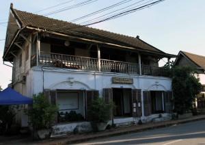 Historic building in Luang Prabang.
