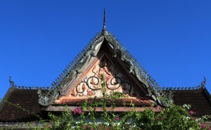 Another temple rooftop in Wat Si Saket.