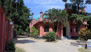 Active mosque next to Goaldi Mosque.