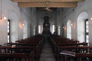 Inside the Armenian Church.
