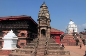 Stone temple in Bhaktapur.