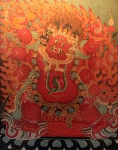 Hayagriva, a wrathful tantric Buddhist meditation deity.