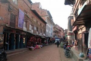 Street in Bhaktapur.
