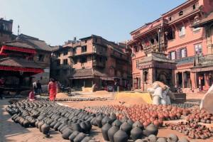 Potter Square in Bhaktapur.