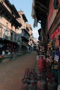 Street near Duttatraya Square.