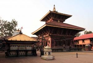 The main temple of Changu Narayan.