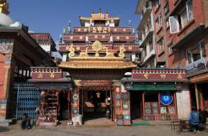 The temple at Shree Gha.