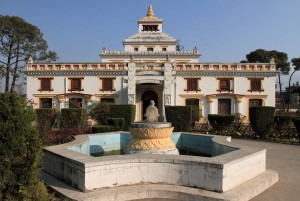 The National Museum, specifically, the building containing the Hindu art treasures.