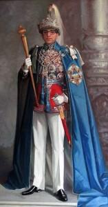 King Mahendra Bir Bikram Shah.