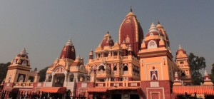 "The Laxminarayan Temple (also known as ""Birla Mandir"")."