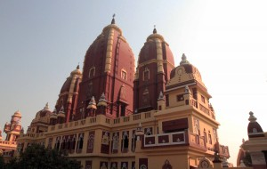 Back view of the Laxminarayan Temple.