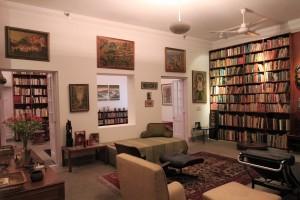 Indira Gandhi's study.