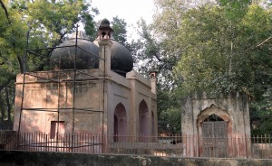 The Mughal Mosque.